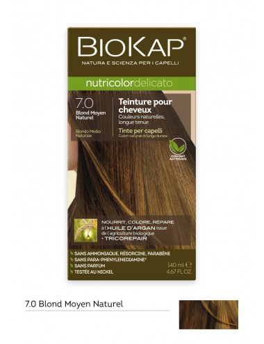 Biokap  Delicato 7.0 Blond Moyen Naturel 140ml