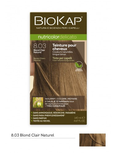 Biokap  Delicato 8.03 Blond Clair Naturel 140 ml