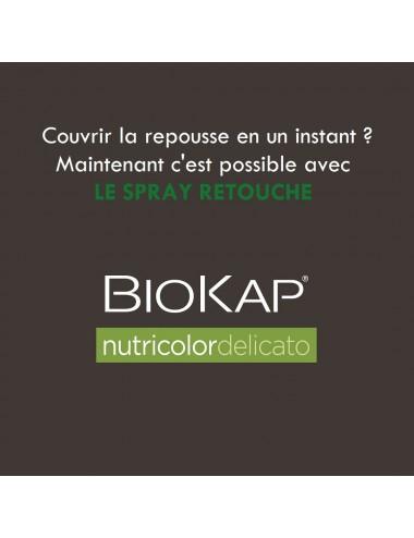 Biokap Spray Retouche Delicato Châtain Clair 75 ml
