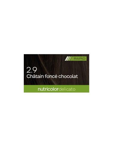 Biokap Delicato Rapid 2.9 Châtain Foncé Chocolat 135 ml