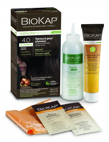 Biokap Delicato Rapid  4.0 Châtain Naturel 135 ml