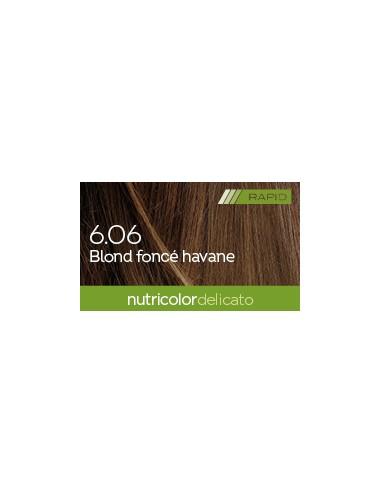 Biokap Delicato Rapid  6.06 Blond Foncé Havane 135 ml