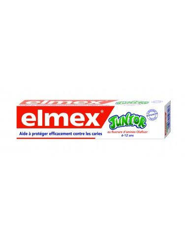 Elmex Dentifrice Anti-Caries Junior 6-12 ans - 75 ml