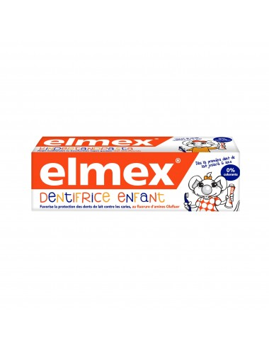 Elmex Dentifrice Anti-Caries Enfant 0-6 ans - 50 ml
