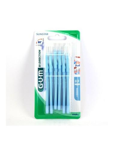 Gum Brossette interdentaire Bi-Direction 0,8 mm - Nouvelle Génération