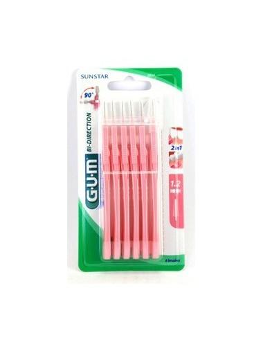 Gum Brossette interdentaire Bi-Direction1,2 mm - Nouvelle Génération