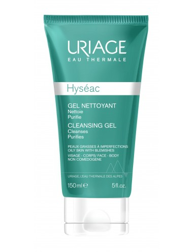 Uriage Hyséac - Gel Nettoyant - Tube 150 ml