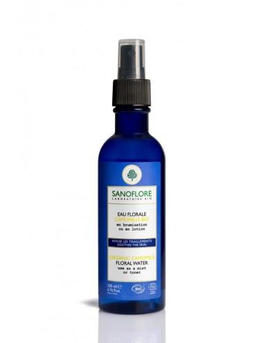 Sanoflore Véritable eau florale de Camomille Bio Brume réconfortante 200ml