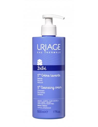 Uriage Bébé - 1ère Crème Lavante - Flacon 500ml