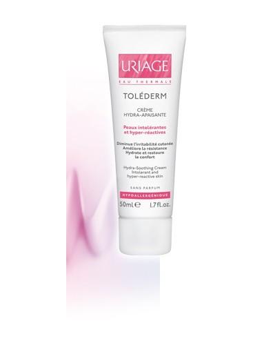 Uriage Toléderm - Crème Hydra-Apaisante - Tube airbackless 50 ml