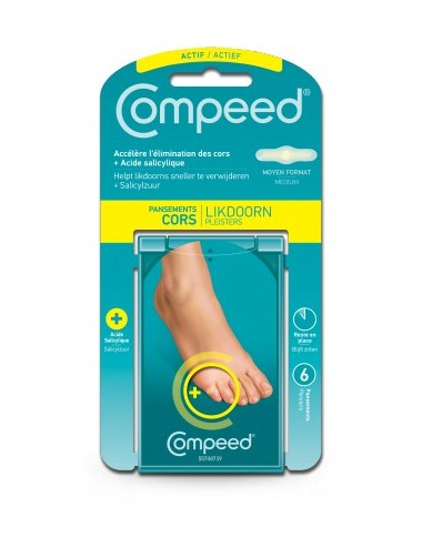 Compeed pansements cors + X6