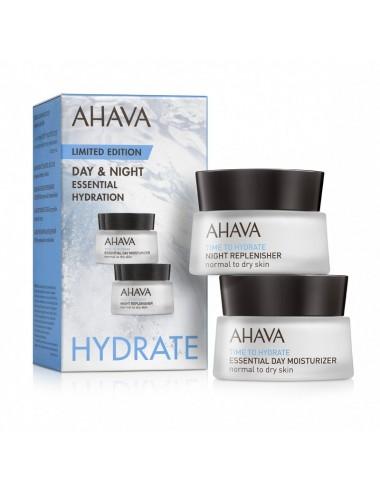 Ahava Kit hydratants essentiels jour et nuit 15ml