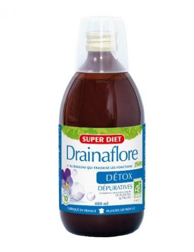 Super Diet drainaflore bio boisson