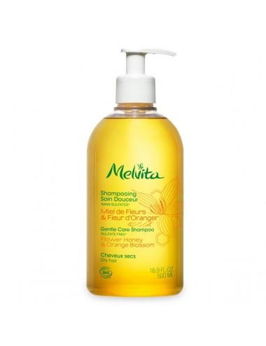 Melvita Shampoing Bio Soin Douceur Miel & Fleurs d'Oranger 500ml