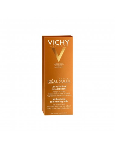 Vichy Idéal Soleil Lait hydratant autobronzant Tube 100ml