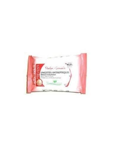 Prevens Lingettes Antiseptiques Parfum Grenade 10 lingettes