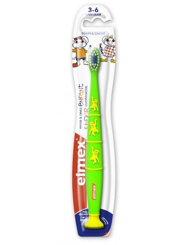 Elmex Brosse à dents Anti-Caries Enfants 3-6 ans - x1