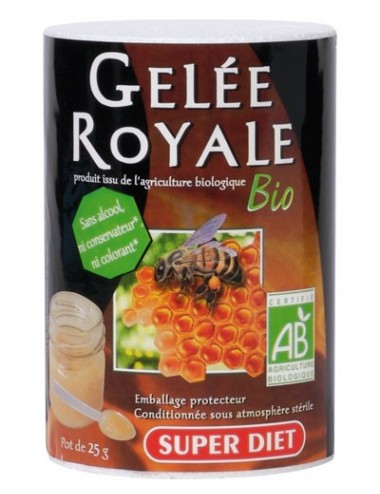 Super Diet gelée royale bio pot