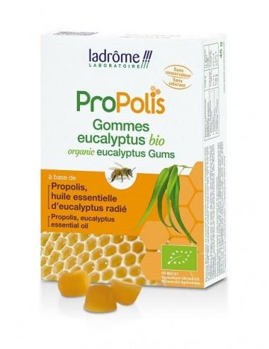 Ladrome Propolis Gommes Bio Propolis Eucalyptus 45g