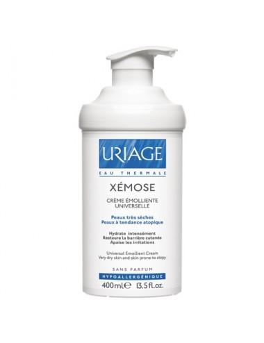 Uriage Xémose - Crème Relipidante Anti-irritations - Flacon Pompe Airless 400ml +12%* de restitution par rapport à un flac...