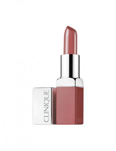 Clinique Pop Rouge Intense 02 Bare Pop + Base Lissante 3,9 g
