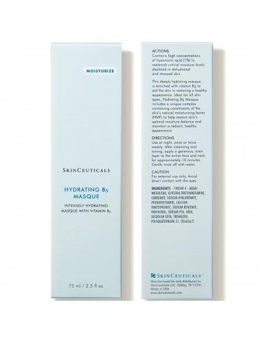 Skinceuticals HYDRATING B5 MASQUE Masque hydratant à l'acide hyaluronique 75ml