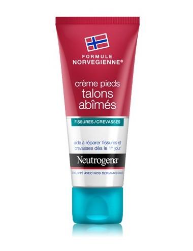 Neutrogena crème pieds talons abimés