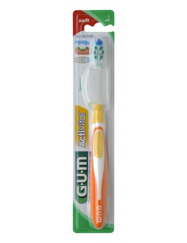 Gum Brosse à dents Activital Souple Compacte