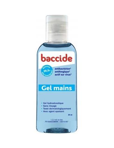 Baccide Gel Hydroalcoolique Bleu 30ml