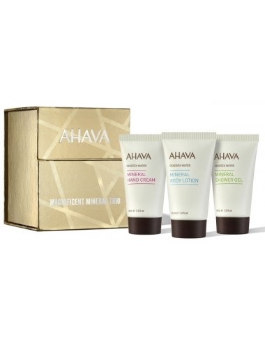 Ahava Coffret 2020 Trio Pouvoir Mineral