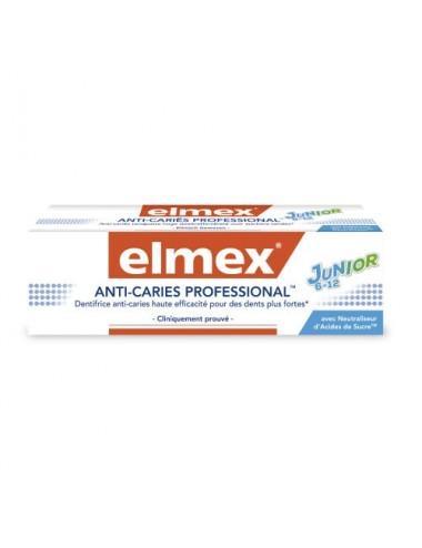 Elmex Dentifrice Anti-Caries Professional Junior - 75 ml