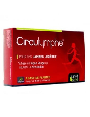 Santé Verte Circulymphe Jambes Légères 30 Comprimés