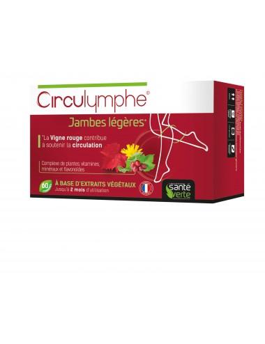 Santé Verte Circulymphe Jambes Légères 60 Comprimés