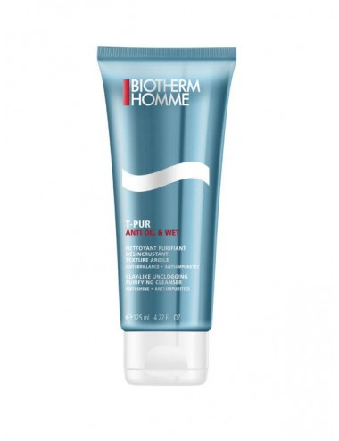 Biotherm Homme T-Pur Nettoyant Visage 125 ml