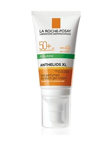 La Roche Posay Anthelios Crème Solaire en Gel-Crème Anti-Brillance Visage SPF50+ Sans Parfum 50ml