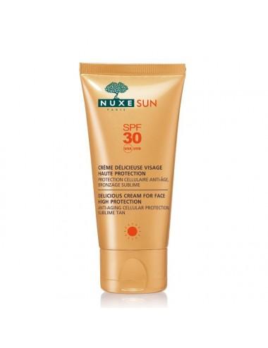 Nuxe Sun crème délicieuse visage SPF30