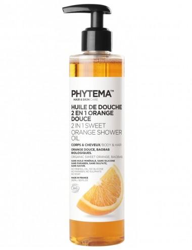 Phytema Skin Care Huile de Douche 2en1 Corps et Cheveux 250ml