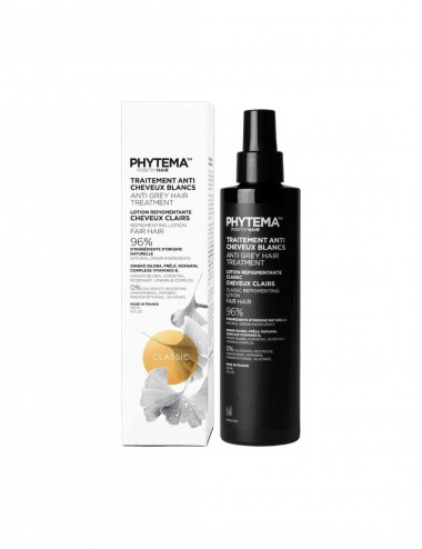 Phytema Positiv'hair Classique Lotion anti cheveux blancs Cheuveux Claires 150mL