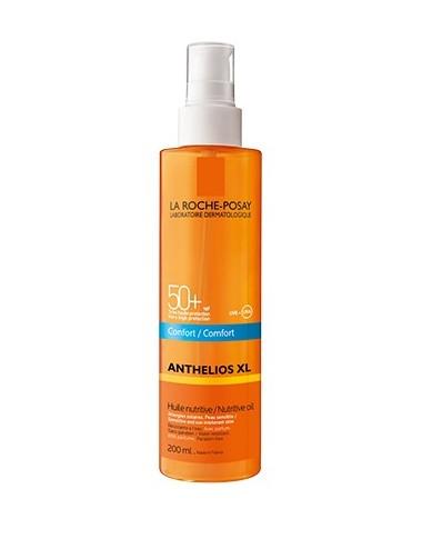 La Roche Posay Anthelios Crème Solaire en Huile Confort Nutritive Corps SPF50+ Avec Parfum 200ml