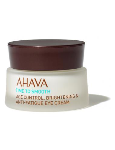 Ahava Crème contour des yeux anti-âge, anti-fatigue et éclat 15ml