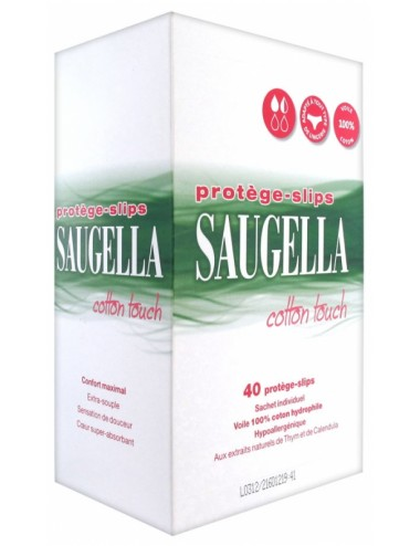 Saugella Cotton Touch 40 Protège-Slips