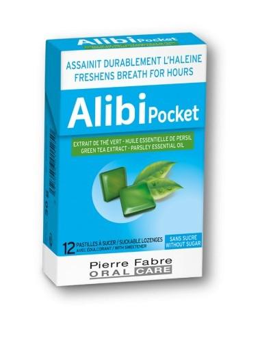 Alibi Pocket Pastilles sans sucre x12