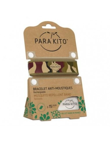 Parakito Bracelet Anti-moustiques Camouflage