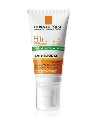 La Roche Posay Anthelios Crème Solaire en Gel-Crème Anti-Brillance Visage SPF50+ Avec Parfum 50ml