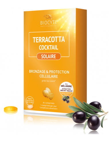 Biocyte Terracotta Cocktail Solaire x30 Capsules