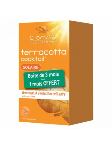 Biocyte Pack Terracotta Solaire x90 Capsules
