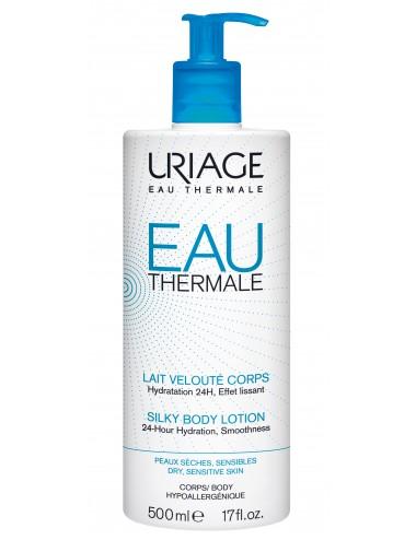 Uriage Eau Thermale - Lait Velouté Corps - Flacon pompe 500ml