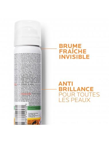 La Roche Posay Anthelios Crème Solaire en Brume Fraîche Anti-Brillance Visage SPF50 Aérosol Avec Parfum 75ml