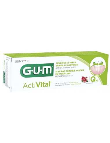 Gum Gel dentifrice ActiVital 75ml