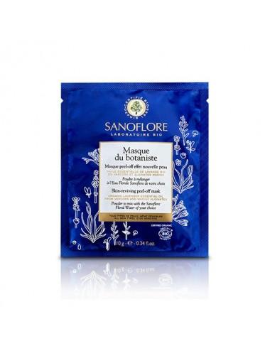 Sanoflore Masque du botaniste Masque sur-mesure peel-off Sachet uni-dose 10g